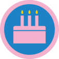 16 Candles: Treat yourself to another cupcake - that's 5 birthday shoutouts from you!