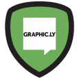 Graphic.ly: You've searched high and low to discover real life comic book locations. Who needs Super Heroes when you're a Super Fan! Proudly show this badge at Comic Con's Graphic.ly booth to redeem free comics!