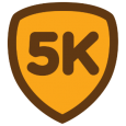 5K: Hey, remember that time you finished a 5K? Because it JUST happened. Feels good, doesn't it? Who knows... maybe some day you'll make it through a marathon!