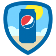 Pepsi Summer Fun: Beach, BBQs, Parks and sun - what could be better? By unlocking this badge, you're eligible to win awesome prizes. Now time to relax and unwind - it's summertime!