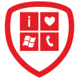 I Love Windows Phone: Thanks for showing us some love! Don't forget to present your badge to a Windows Phone representative to score some awesome swag (while supplies last)!