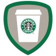 Barista: Congrats - you've checked in at 5 different Starbucks! Be sure to pick up a double tall latte for your friend - I'm sure they'd do the same for you.