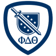 Phi Delta Theta: Friendship! Sound learning! Moral rectitude! You're becoming the greatest version of yourself, and now you've got the badge to prove it.