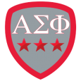 "Alpha Sigma Phi: Causa Latet Vis Est Notissima! You strive ""to better the man"" and live our values of Silence, Charity, Purity, Honor and Patriotism. Louis is proud to share this badge with you!"