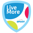 Live More Smart: Awe-SoLoMo-some! You're a certified rockstar! Thanks for rocking on at the #4SQHackPH! #LiveMore