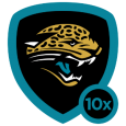 Jacksonville Jaguars: They're on the prowl and they're feeling bold. Get ready for some teal, black, and gold. Go Jaguars!