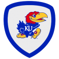 Jayhawk Superfan: Far above the golden valley, glorious to view, this official Jayhawk badge makes it clear you're a true Jay, Jay, Jay, Jay, Jayhawk. Rock Chalk!