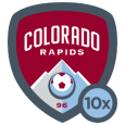 Colorado Rapids: Glory Glory Colorado. Glory Glory Colorado. Glory Glory Colorado. And the Rapids go marching ON ON ON! Congrats, it looks like you're marching with us!
