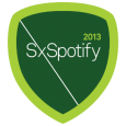 SxSpotify: You have hit some of the coolest spots in Austin during SXSW! Accept this small token on behalf of Spotify.